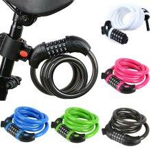 Resettable Digit Bicycle Bike Lock Combination Code Cycle Security  Locks