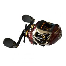17+1 Ball Bearings Left / Right Hand Bait Casting Fishing Reel Gear Ratio 6.3:1 Baitcasting Reel Fishing Tackle Tool BC150R right hand