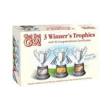 Set of 3 Trophies & 10 Certificates Set