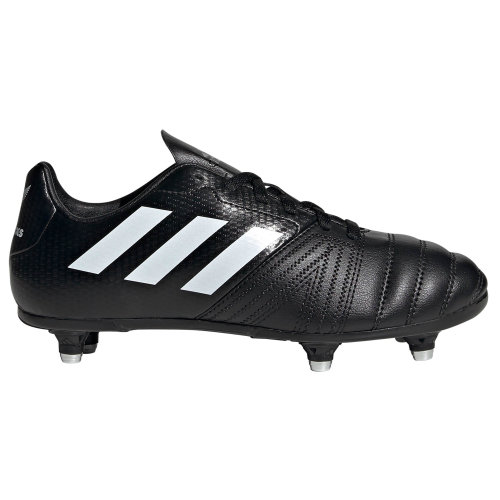 adidas All Blacks SG Soft Ground Junior Kids Rugby Boot Black