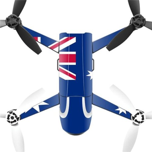 MightySkins PABEBOP2-Australian Flag Skin Decal Wrap for Parrot Bebop 2 Quadcopter Drone - Australian Flag