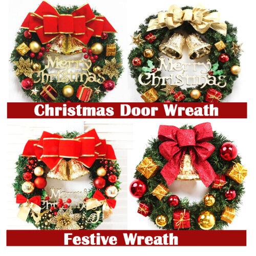 Christmas Festive Door Wreath Door Room Wall Decor