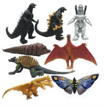 8Pcs Godzilla 2 King Of The Monsters Ghidorah Mothra Action Figure Toy