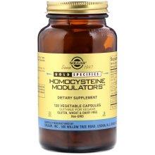 Solgar, Gold Specifics, Homocysteine Modulators, 120 Vegetable Capsules