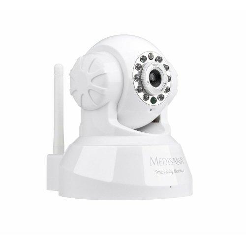 Medisana Smart Baby Monitor-Fits iPhone, iPad, Mac, Android Phones, PC