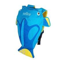 Trunki Kid's Water-Resistant Swim & Gym Bag – PaddlePak Tang Surgeonfish (Blue)
