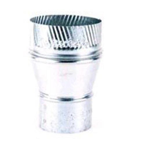 GV1360-6X8-312 6 - 8 in. Galvanized Increaser 24 Gauge
