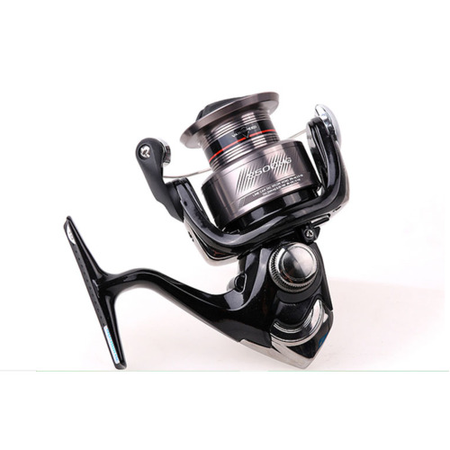 Reel CATANA Fishing Spinning Reel 2+1BB 1000  Power Seawater/freshwater Metal Spool Fishing Reels(black)