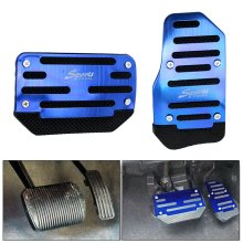 Non-Slip Automatic Throttle Brake Foot Pedal Cover Pad for Car Vehicle