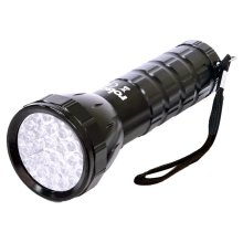 28 LED Aluminium Torch With Wrist Strap -  rolson 28 led aluminium torch 61671 new