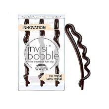 Invisibobble WAVER Pretty Dark Hair Clip x3