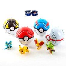 Bounce Pokémon Pokeball Pop-up Fighting Toys (4pk)