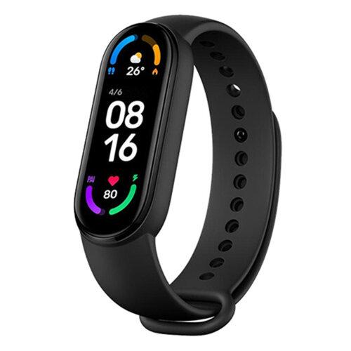 Xiaomi Mi Band 6 - Black   Smart Health & Fitness Tracker