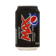 Pepsi Max Cans (24 x 330ml)