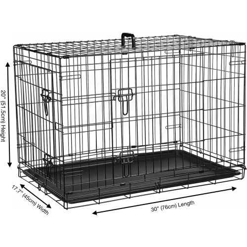 """(Medium 30"""") Cardy's Dog Crate   Puppy Pet Carrier"""