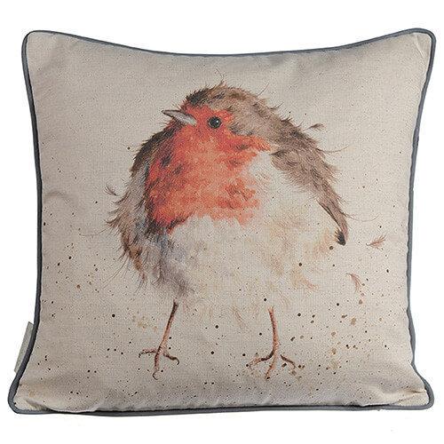 Wrendale Jolly Robin Cushion