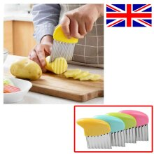 New Vegetable Potato Chip Dough Stainless Steel Crinkle Wavy Chipper
