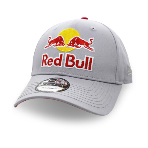 Red Bull Gray White Baseball Cap Mesh Snapback Hats For Women Men