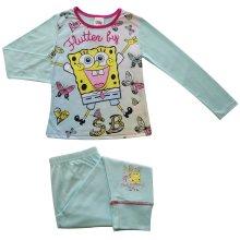 Girls Sponge Bob Squarepants Pyjamas