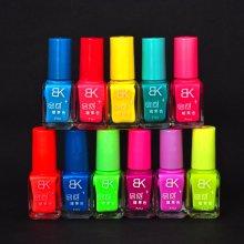 1pcs Neon Fluorescent luminous Nail Polish candy fast Dry 7ml
