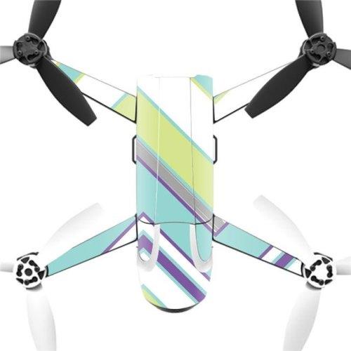 MightySkins PABEBOP2-Pastel Chevron Skin Decal Wrap for Parrot Bebop 2 Quadcopter Drone - Pastel Chevron