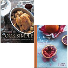 A Change of Appetite,Cook Simple 2 Books Collection Set