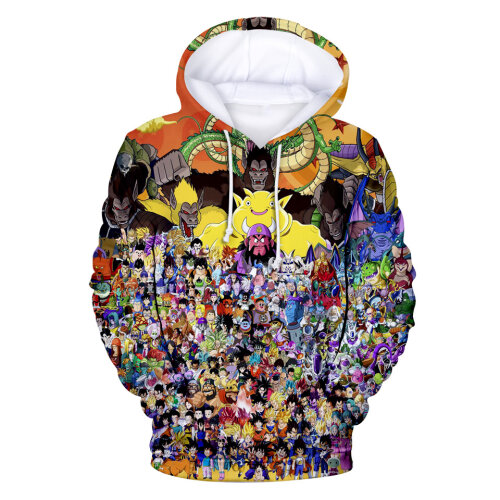 (S) 3D Print Kids Pullover Hoodies Tops with Pocket