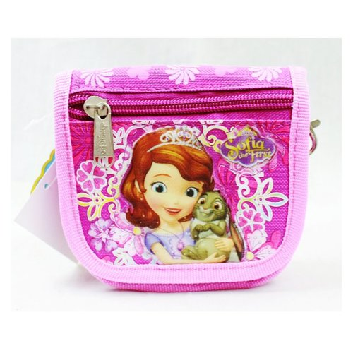 String Wallet - Dsiney - Sofia the First Flower Bag Pink School Bag New A05914