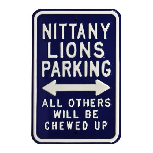 Authentic Street Signs 71017 Nittany & Lion & Chewed Up Street Sign