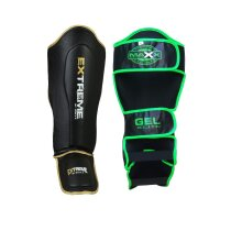 Maya Grain Leather Boxing shin Guard Instep Pad Leg protectors