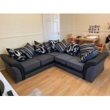 High Quality Double Padded Shannon 5 Seater Corner Sofa