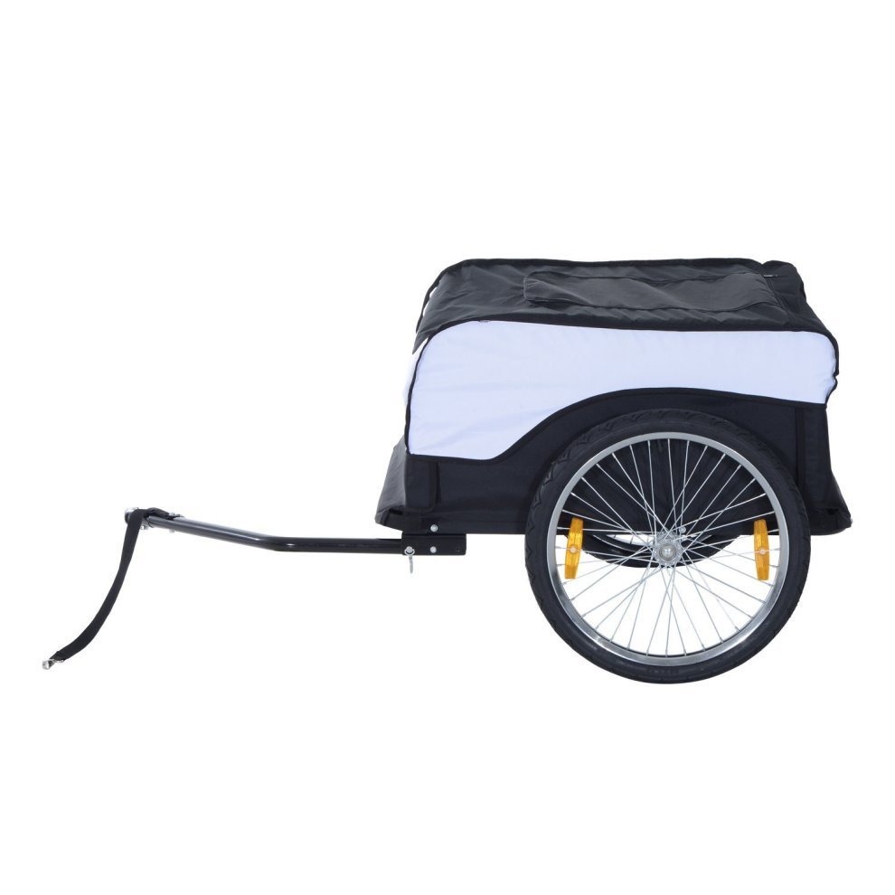 Folding Bicycle Cargo Trailer Shop Luggage Storage Utility Hitch Cover