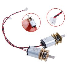 1pc DC 3V/6V/5V 55rpm Reduction Gearbox Slow Speed Micro N20- Full Metal Gear Motor