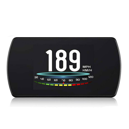 Universal T800 Car HUD Head Up Display Digital GPS Speedometer Overspeed Alarm Speed Warning System For Most Car Vehicles