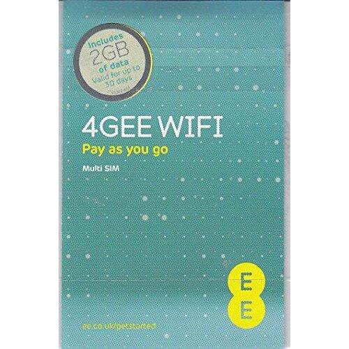 EE PAYG SIM Card Preloaded with 2 GB of 4GEE Data, 300011784