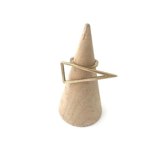 (7 / Bronze) Triangle Ring