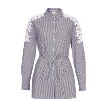 Yumi Womens/Ladies Embroidered Shirt Dress