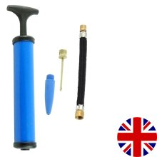 Football Pump Bike Bicycle Soccer Rugby Football Inflating Needle Adapter UK