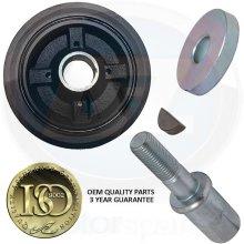 For Chalenger L200 Shogun 2.5 TD Diesel 4D56 crank shaft pulley bolt key