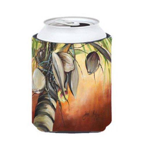 Orange Coconut Tree Can & Bottle Hugger