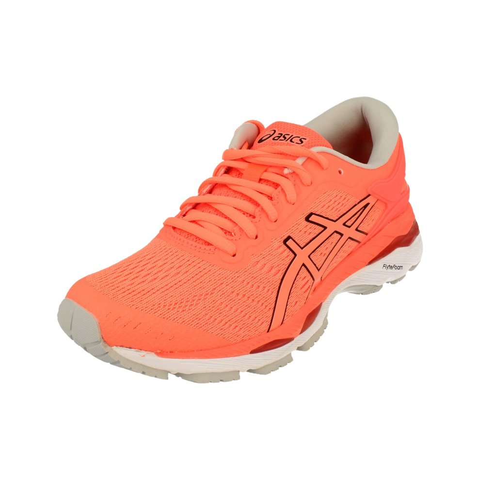 (4.5 (Adults')) Asics Gel-Kayano 24 Womens Running Trainers T799N Sneakers Shoes