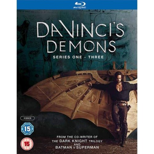 Da Vincis Demons Series 1 to 3Complete Collection Blu-Ray [2016]