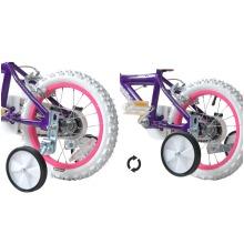 """Kids Bike Flip Up Folding Training Wheels Balance Stabilisers 12-20"""""""