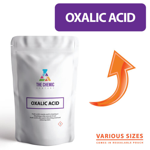 Oxalic Acid Crystals PURE GRADE Chemical Powder ALL SIZES including 1KG