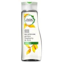 Herbal Essences Daily Detox Clean Shampoo - Golden Raspberry & Mint 400ml