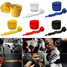 Elastic Fixed Bandage Wraps MMA Wrist Fist Protector Boxing Gloves