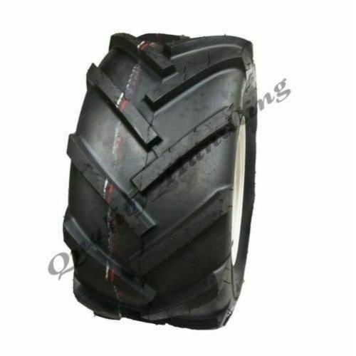 18x9.50-8 Open centre, cleated, rotovator lug tyre, 4 stud rim