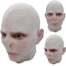 Masquerade Voldemort Halloween Full Head Mask Party Club Cosplay Helmet Headgear