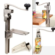 Professional  Catering Tin Can Opener Steel Large Heavy Duty Bench Top