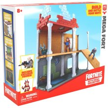 Fortnite 63511 Battle Royale Collection Mega Fort and 2 Exclusive FiguresTricera Ops and Blue Squire, Multicoloured